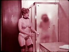 Busty RedHead In Lesbian Scene