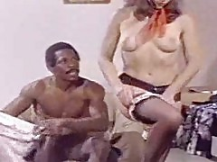 The beginning of anal interracial