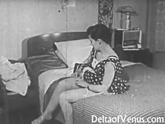Vintage Erotica 1950s - Voyeur Fuck - Peeping Tom