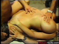 Affair from MATURE-FUCKS.COM - Mature blonde with huge tits gets fucked
