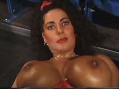 Do It With Tiziana Redford solo masturbation in lingerie