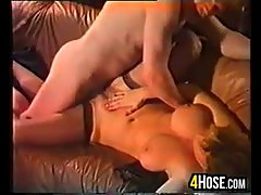 Beauty In Stockings Riding Cock Classic