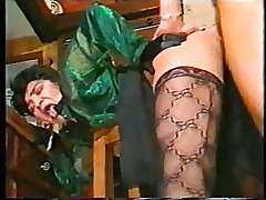 Anal Fever 1990 Lesbians , Anal ,Strapon , DP, Stockings