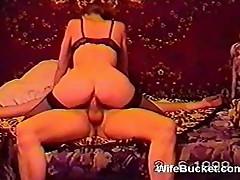 Vintage Russian swing orgy