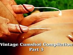Vintage Cumshot Compilation (Part 3)