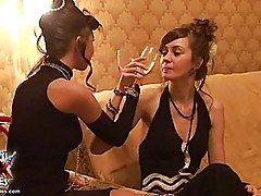 Retro maid loves to be fucked in ass