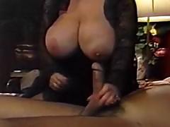 Lucky pecker fucks big tits
