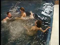 Sluts at the pool