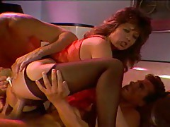 Tiffany Storm threesome with huge facial