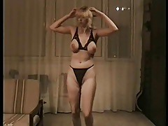 My wife dancing 4