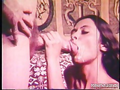 Huge cock sex and messy facial
