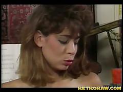 Vintage lesbian threesome