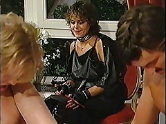 Desiree Barclay hot threesome