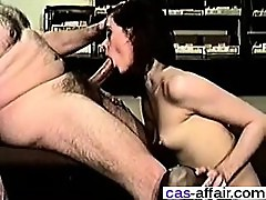 Hairy guy fucks the secretary - Meet her on CAS-AFFAIR.COM