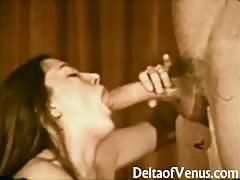 Vintage XXX - John Holmes Fucks Hairy Brunette Girl