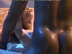 Well-hung black dude bangs slutty redhead