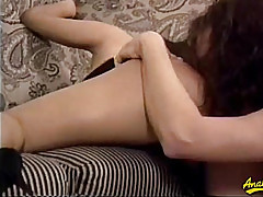 He enjoys licking Francesca's pussy and ass