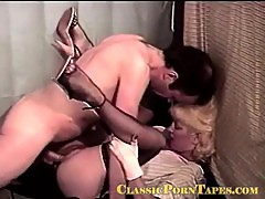 Awesome vintage public fucking blonde