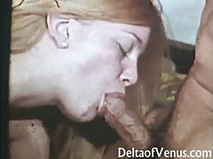 Hairy Vintage Teen Gets Fucked - 1970s Porn