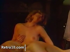 perfect retro lesbians with toy