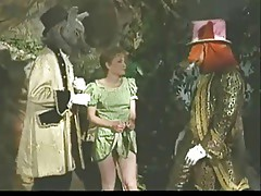 Vintage Furry Gang Bang Porking In Wonderland