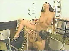 Sindee Coxx and Tia Bella in hot lesbian threesome
