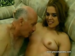 Old Man Dave Fucks A 18 Year Old Slut