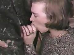 Shy Italian Girl fucked by 4 repairmen